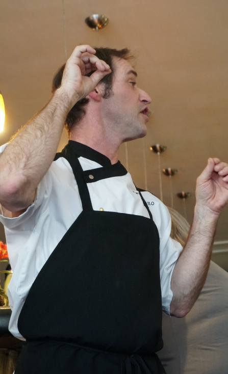 John Sabal, owner of the Palisade Cafe. Photo by Lisa Moose Levy Kral.JPG